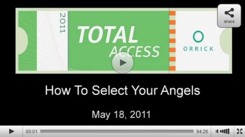 How to Select Angel Investors